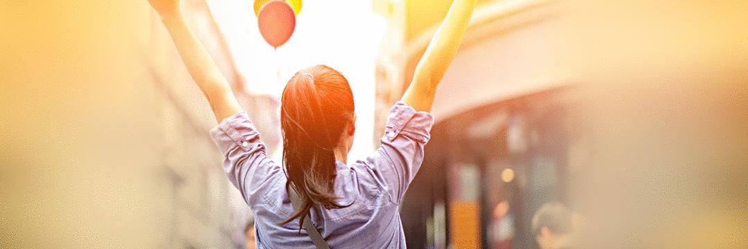 Filtre seu olhar rumo ao sucesso e à felicidade