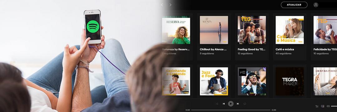 Spotify - Brand experience e um ponto de contato digital da marca