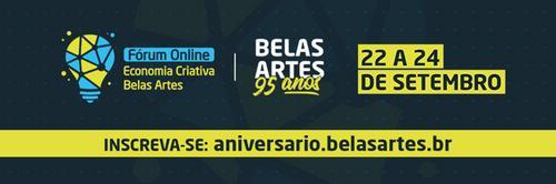 95 anos de Belas Artes: comemoração com profissionais renomados em evento online